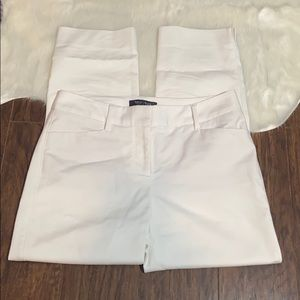 WhiteHouse BlackMarket Cropped Pants